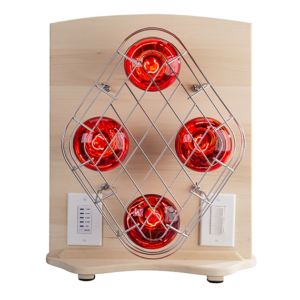 Portable near-infrared sauna light therapy